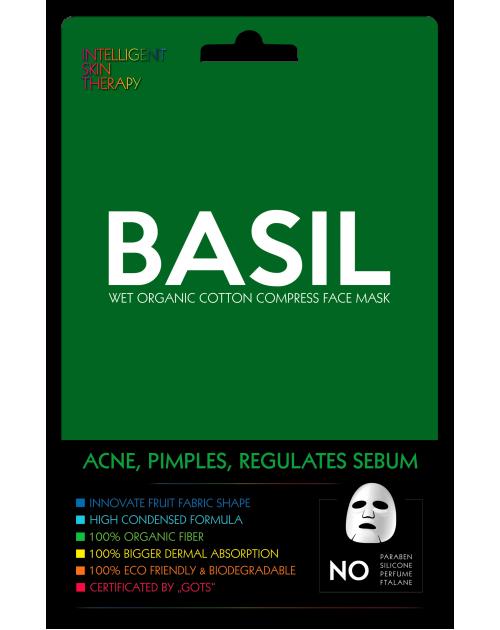 Базилік/BASIL регулює себум, для жирн.шкіри, INTELLIGENT SKIN THERAPY, ТМ Beauty face (Польща)