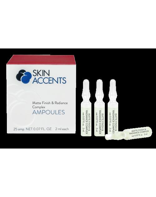 Концентрат для матового сяйва / Matte Finish & Radiance Complex TM Skin Accents 25*2 мл