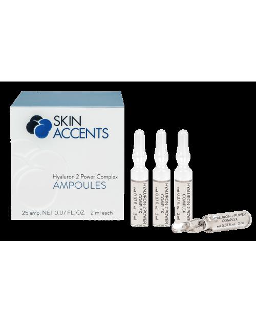 Концентрат гіалуронової кислоти / Hyaluron 2 Power Complex TM Inspira Skin Accents 25*2мл