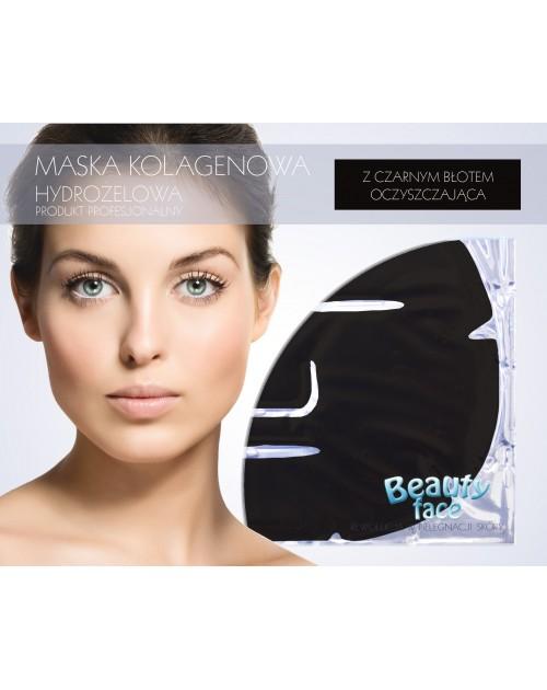 Професійна колагенова маска з чорною глиною, шт